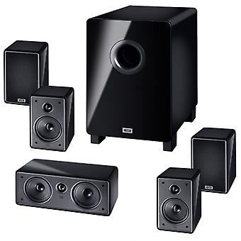 B-ware, Heco music colors cinema 5.1 A, home cinema system with active subwoofer