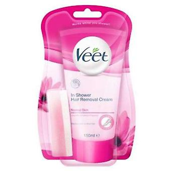 Veet Depilatory cream for Normal Skin 150ml shower