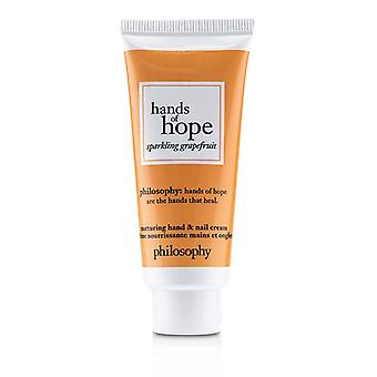 Philosophy Hands Of Hope Sparkling Grapefruit Hand & Nail Cream - 30ml/1oz