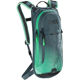 Evoc Slate-Neon Green 2019 Stage - With 2 Litre Bladder - 3 Litre Hydration Pack