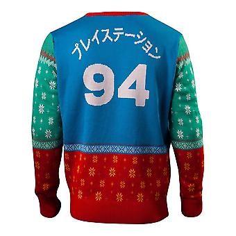Playstation Tokyo Knitted Christmas Sweater Multi-colour Large (KW318203SNY-L)