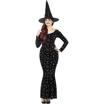 Deluxe Black Magic Ouija Witch Costume
