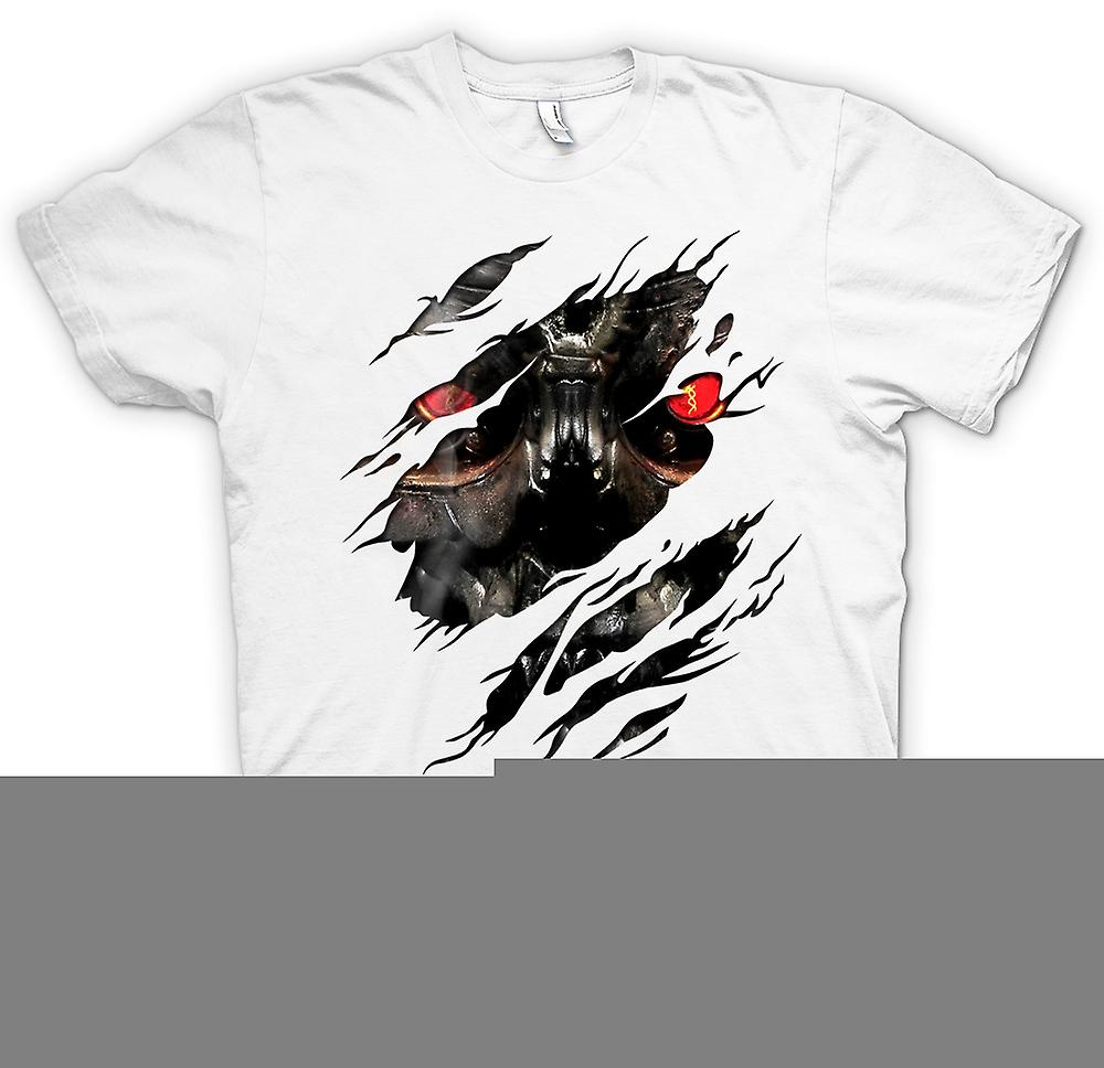 Womens T-shirt - Terminator Ripped Effect
