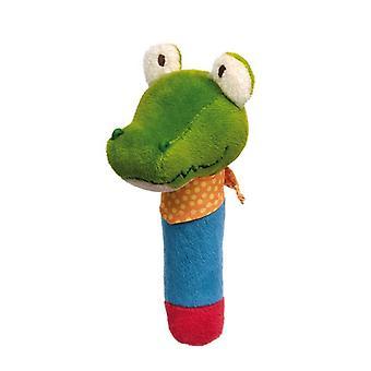 Sigikid grab figure crocodile Squeaker with Peep PlayQ