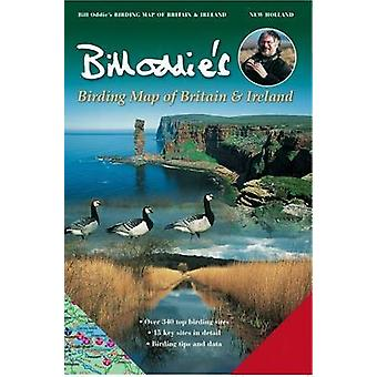 Bill Oddie's Birding Map of Britain and Ireland (7th Revised edition)