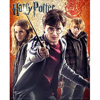 Harry Potter 7 Trio affichette 40x50cm