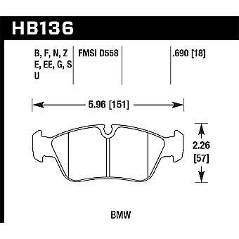 Hawk prestaties HB136B. 690 HPS 5,0