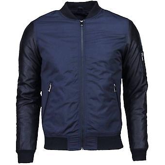 Casual Jacket-Urban Bomber jacket-Navy