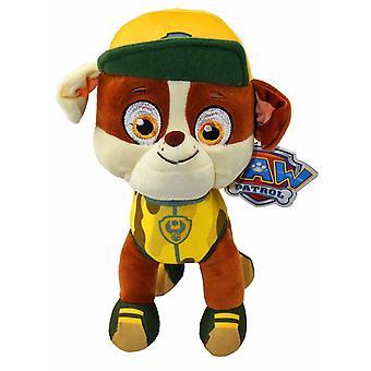 Paw Patrol Jungle Rescue S3 Rubble stuffed toy Plush soft 27cm