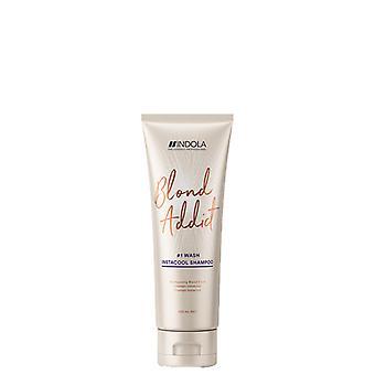 Indola Blond Addict Ice Shampoo 250ml