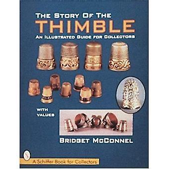 A história do dedal: um guia ilustrado para colecionadores (livros de Design Schiffer)