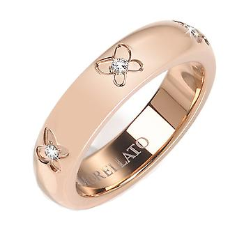Morellato Woman Plated in Rose Gold Zirconite Ring Size 14 SNA28014