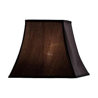 Diyas Contessa Square Shade Black 190/355mm X 300mm