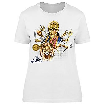 Happy Durga Puja India Festival  Tee Women's -Image by Shutterstock