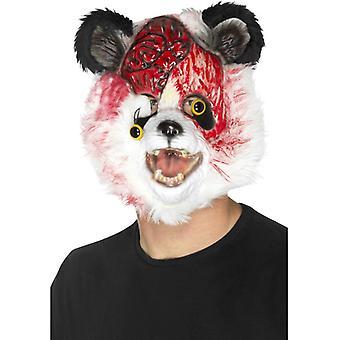 Smiffys Zombie Panda Mask Black & White Eva With Fur (Neonati e Bambini , Costumi)