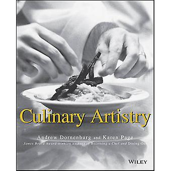Art culinaire par Andrew Dornenburg - Karen Page - 9780471287858 B