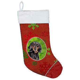 الكلب الألماني الأحمر والأخضر الثلج عطلة عيد الميلاد عيد الميلاد تخزين SC9403