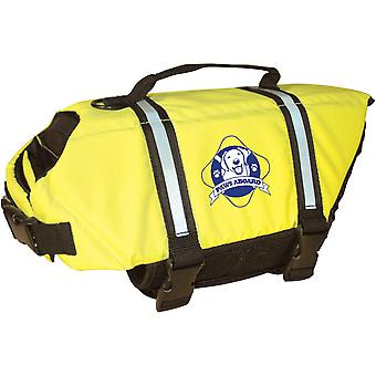Paws Aboard Doggy Life Jacket Extra Large-Safety Neon Yellow XL1600-1600