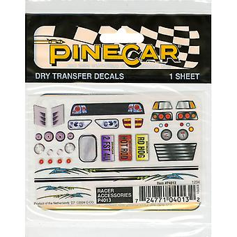 Pine Car Derby Dry Transfer Decal 3