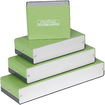 Universal enclosure 100 x 80 x 40 Aluminium Green, Grey