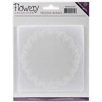 Find It Trading Precious Marieke Embossing Folder-Flowery EMB10008