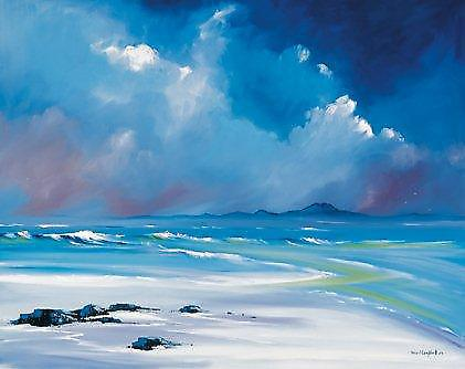 Daniel Campbell stampa - White Sands, Tiree