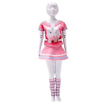 Dress Your Doll Tiny Rabbit (Toys , Educative And Creative , Design And Mode , Mode)