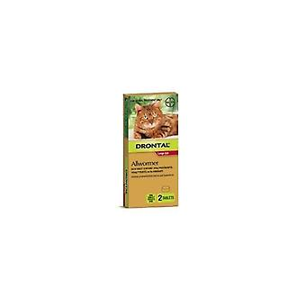 Drontal Cat Allwormer 6kg 2's