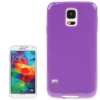 Protective case TPU case for mobile Samsung Galaxy S5 / S5 neo purple / violet