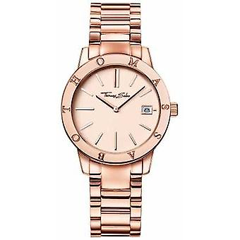 Thomas Sabo Womans Rose Gold Coloured Dial Stainless Steel WA0175-265-208-33 Watch