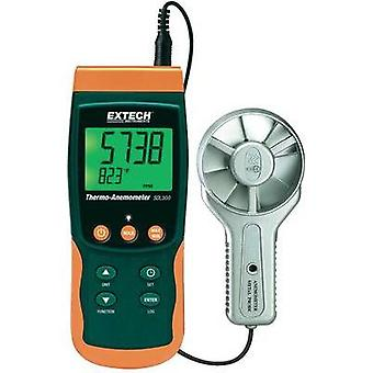Anemometer Extech SDL300 0.4 up to 35 m/s Calibrated to Manufacturer standards