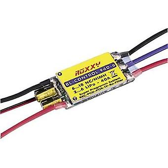 ROXXY Roxxy Brushless-Control 940-6Operating voltage7.2 - 22.2 V continuous current 40 Aconnector system Fut