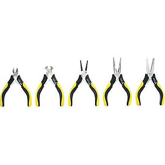 Toolcraft 814608, 5 Piece ESD Electronic Pliers Set