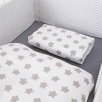 Bed linen White Star/points, 100x135cm