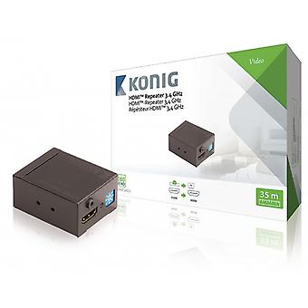 König HDMI ™ repeater HDMI inputs – HDMI 35 m dark grey