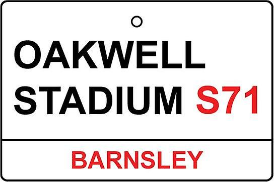 Barnsley / Oakwell Stadium Street Sign Car Air Freshener
