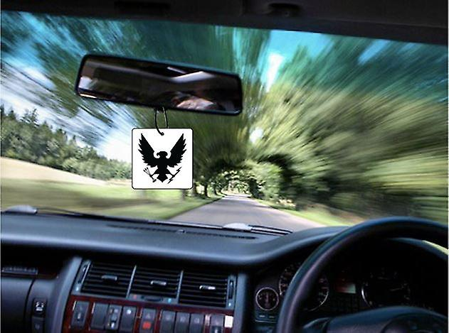 Spartaanse auto luchtverfrisser