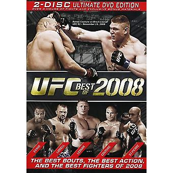 UFC: The Best of 2008 [DVD] USA import