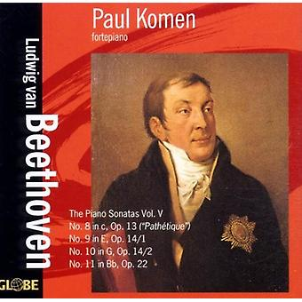 L.V. Beethoven - importación de Estados Unidos Paul Komen interpreta Beethoven [CD]