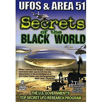 Ufoer & område 51-Secrets af verdens sort [DVD] USA importerer