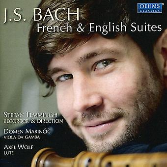 J.S. Bach - J.S. Bach: Importazione USA francese & Suites inglesi [CD]