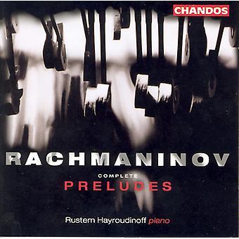 S. Rachmaninov - Rachmaninov: Komplett preludier [CD] USA import