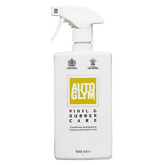 Autoglym Car Detailing Interior and Exxterior Vinyl and Rubber Car Cleaning and Shine Protection in 500 ml