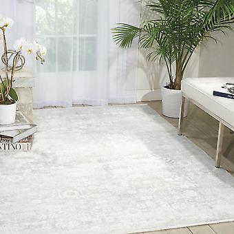 Desert Skies Rugs Dsk02 By Kathy Ireland In Silver And Green