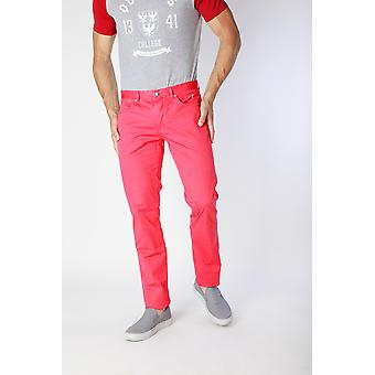 Jaggy Trousers Red Men