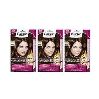 Schwarzkopf X 3 Palette Intensive Cream Colour 850 Mocha Brown