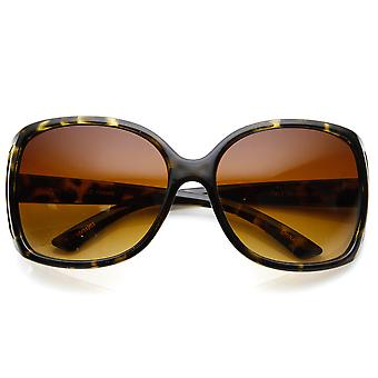 Ladies Fashion Large Wide Oversized Cut-Out Sunglasses