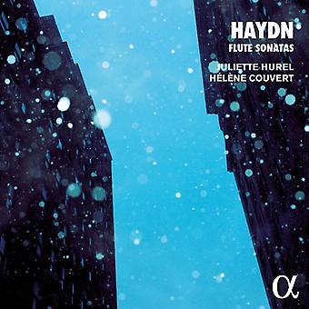 Haydn / Hurel, Juliette / Couvert, Helene - Haydn: fløjte sonater [CD] USA import