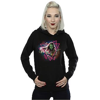 Marvel Women's Guardians Of The Galaxy Neon Gamora Hoodie