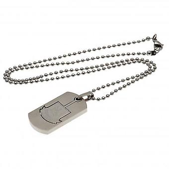 West Ham United Dog Tag & keten CO CT